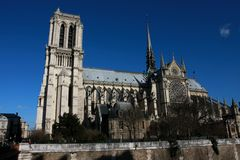 Notre-Dame de Paris Royalty Free Stock Images