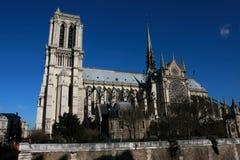 Notre-Dame de Paris Images libres de droits
