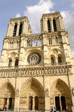 Notre Dame de Paris Stock Afbeelding