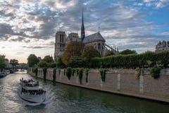 Notre Dame de Paris Foto de Stock Royalty Free