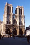 Notre-Dame de Paris. The Notre Dame Cathedral in Paris - France Royalty Free Stock Photo