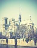Notre Dame de Paris Photo libre de droits