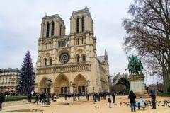 Notre Dame de Paris Imagem de Stock