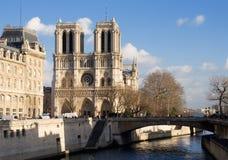 Notre-Dame de Paris Stockbild