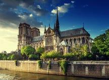Notre Dame de Paris Immagini Stock Libere da Diritti