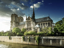 Notre Dame de Paris photo libre de droits