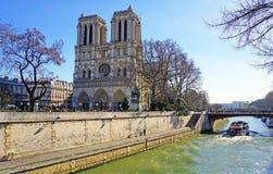 Notre Dame de Paris Stockbilder