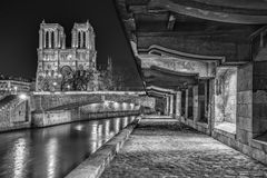 Notre-Dame de Paris Stock Afbeelding