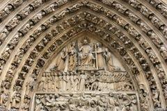Notre Dame de Paris imagens de stock royalty free