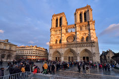 Notre Dame de Paris Photo stock