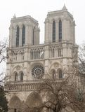 Notre-Dame de Paris. Cathedrale, france, cathedral, religion, architecture Stock Photo