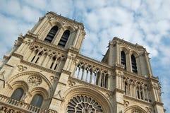 Notre-Dame De Paris. View of Cathedrale Notre Dame de Paris Royalty Free Stock Photography