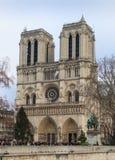 Notre Dame de Paris Immagini Stock