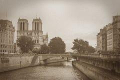 Notre-Dame de Paris Foto de Stock Royalty Free
