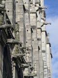 Notre Dame de Paris architecture detail Stock Photography