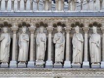Notre Dame de Paris architecture detail Stock Photo