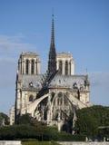 Notre Dame de Paris architecture overview Royalty Free Stock Images