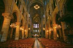 Notre Dame de Paris carhedral royalty free stock photography
