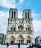 Notre-Dame de Paris de Cathédrale De photo stock