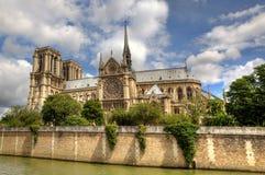Notre Dame de Paris Cathedral. Stock Photo