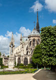 Notre Dame de Paris Cathedral Images stock