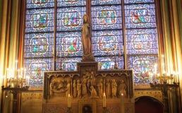 Notre Dame de Paris cathedral. Royalty Free Stock Photos