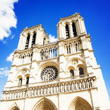Notre Dame de Paris cathedral catholic church Royalty Free Stock Image