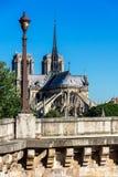 Notre Dame de Paris Cathedral en la isla de la citación París, Francia Fotos de archivo libres de regalías