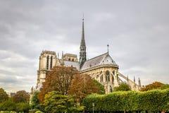 Notre-Dame de Paris. Cathedral in Paris, France Royalty Free Stock Photo