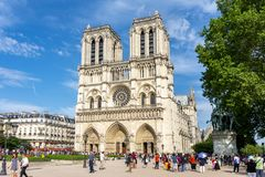 Free Notre-Dame De Paris Cathedral, France Royalty Free Stock Photo - 144940545