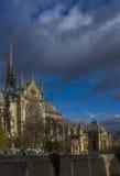 Notre Dame de Paris Cathedral. France Stock Image
