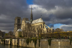 Notre Dame de Paris Cathedral. France Royalty Free Stock Image