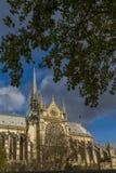 Notre Dame de Paris Cathedral. France Stock Images