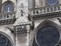 Notre Dame de Paris Cathedral. France Stock Photos