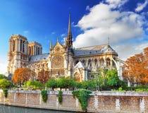 Notre Dame de Paris Cathedral. Stock Photography