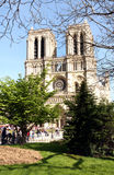 Notre Dame de Paris Cathedral Royalty Free Stock Images