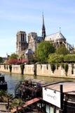 Notre Dame de Paris Cathedral Stock Photo