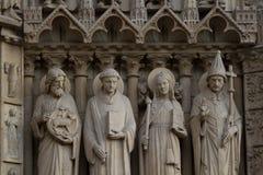 Notre Dame de Paris Cathedral Royalty Free Stock Image
