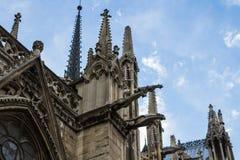 Notre Dame de Paris Cathedral Royalty Free Stock Photos