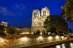 Notre Dame de Paris cathedral Royalty Free Stock Image