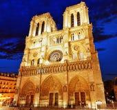 Notre Dame de Paris Cathedral.Paris. France. Royalty Free Stock Images