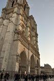 Notre-Dame de Paris Cathedral, Paris, France Royalty Free Stock Photos