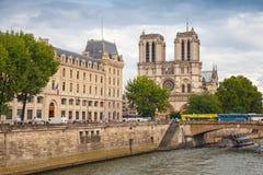 Notre Dame de Paris cathedral, Paris, France Stock Image