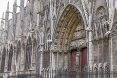 Notre-Dame de Paris. Cathedral in Paris, France Stock Photo
