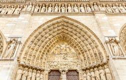 Notre-Dame de Paris. Cathedral in Paris, France Stock Photos