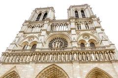 Notre-Dame de Paris. Cathedral in Paris, France Stock Image