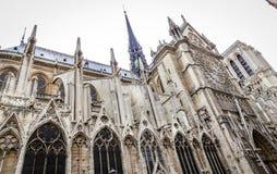 Notre-Dame de Paris. Cathedral in Paris, France Royalty Free Stock Photos