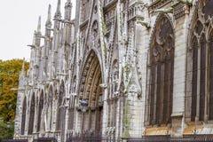 Notre-Dame de Paris. Cathedral in Paris, France Royalty Free Stock Image