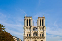 Notre Dame de Paris cathedral Royalty Free Stock Photos