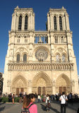 Notre-Dame de Paris cathedral Royalty Free Stock Image